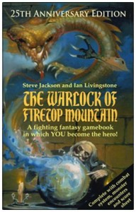 Query letter - The Warlock Of Firetop Mountain cover
